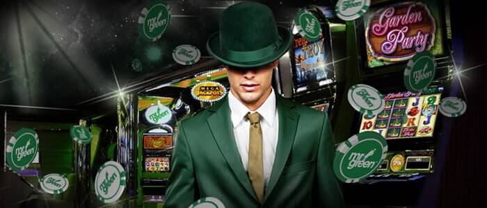 green man casino