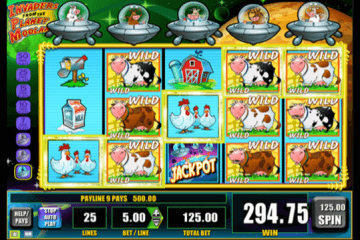 Invaders From The Planet Moolah Slot Review
