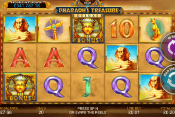 Pharaoh's Treasure Deluxe Slot Review