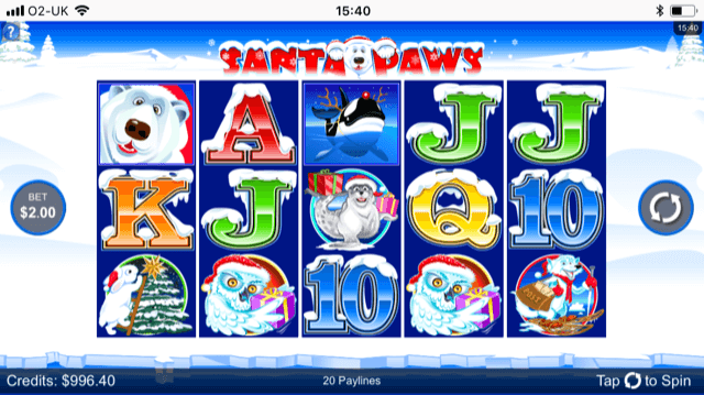Santa Paws Slot Review
