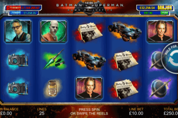 Batman v Superman Dawn of Justice Slot Review