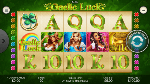 Gaelic Luck Slot Review