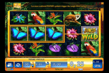 Jungle Wild Slot Review