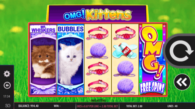 OMG! Kittens Slot Review