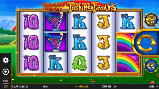 Rainbow Riches Fortune Favours Slot Review