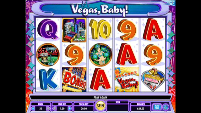 Vegas Baby! Slot Review