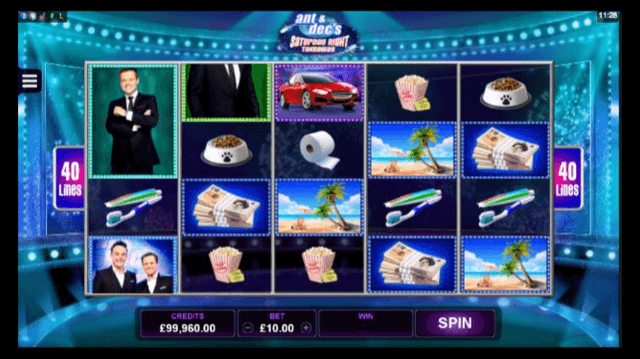 Ant & Dec's Saturday Night Takeaway Slot Review