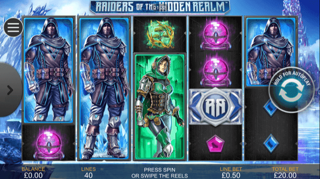 Raiders Of The Hidden Realm Slot Review