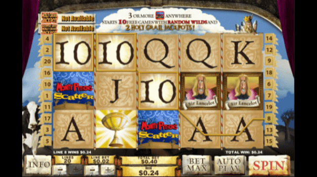 Spamalot Slot Review