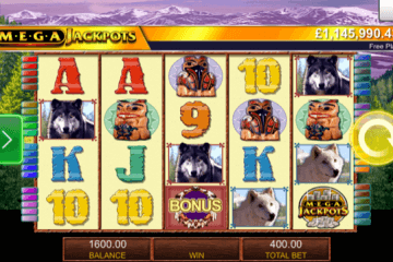 Wolf Run Mega Jackpots Slot Review