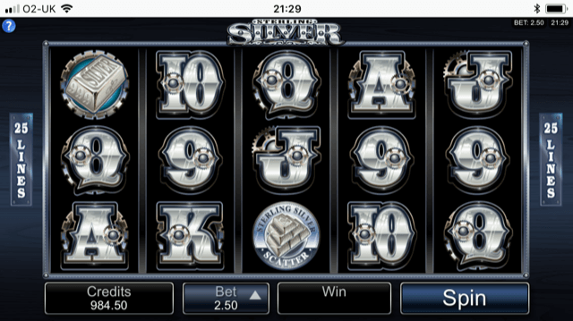 Sterling Silver 3D Slot Review
